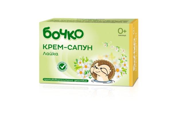 Бочко Бебешки сапун лайка 75 гр. 170